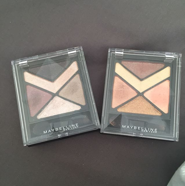 Giveaway Maybeline pallets