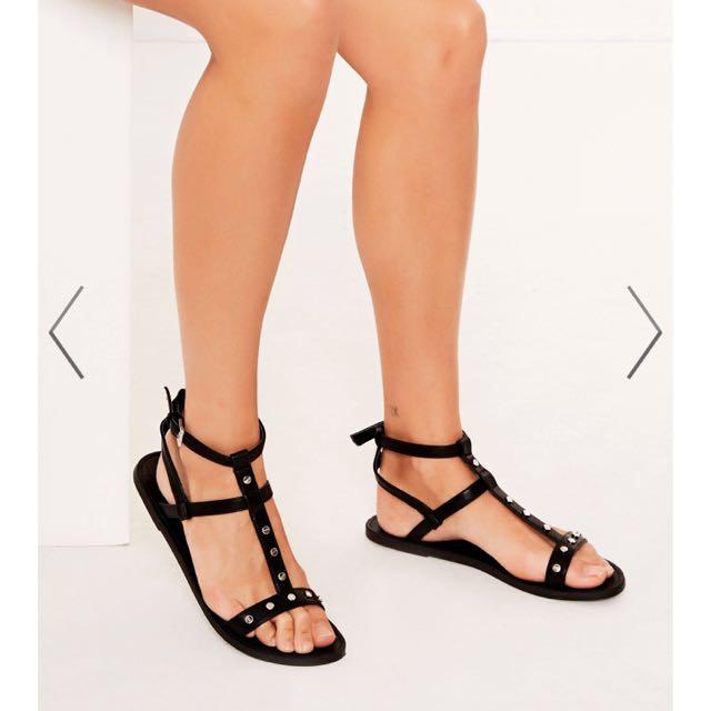 Glassons gladiator sandals size 7-8