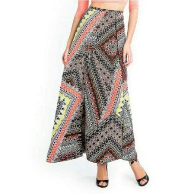 Guess Marciano Leila Tribal Maxi Skirt