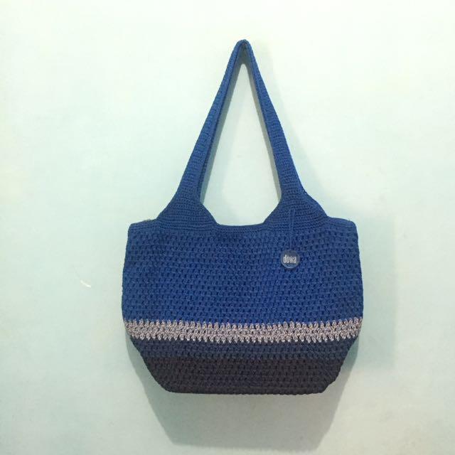 Handbag DOWA Blue