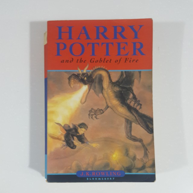 Harry Potter and the Goblet of Fire (#4) by J. K. Rowling