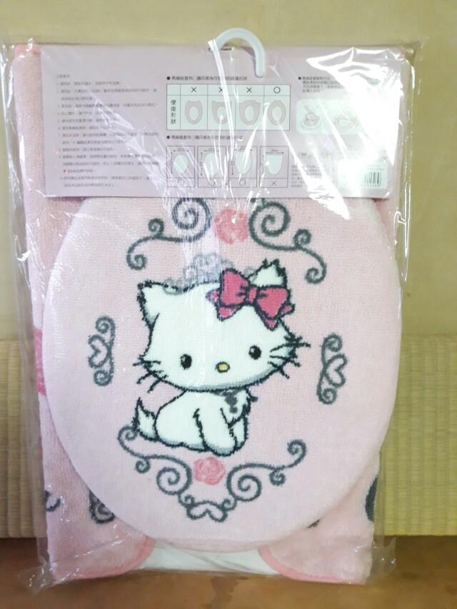 Hello kitty 衛浴三件組