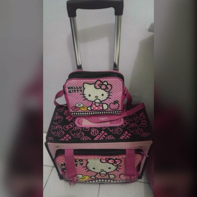 HAWK brand...hello kitty trolley bag