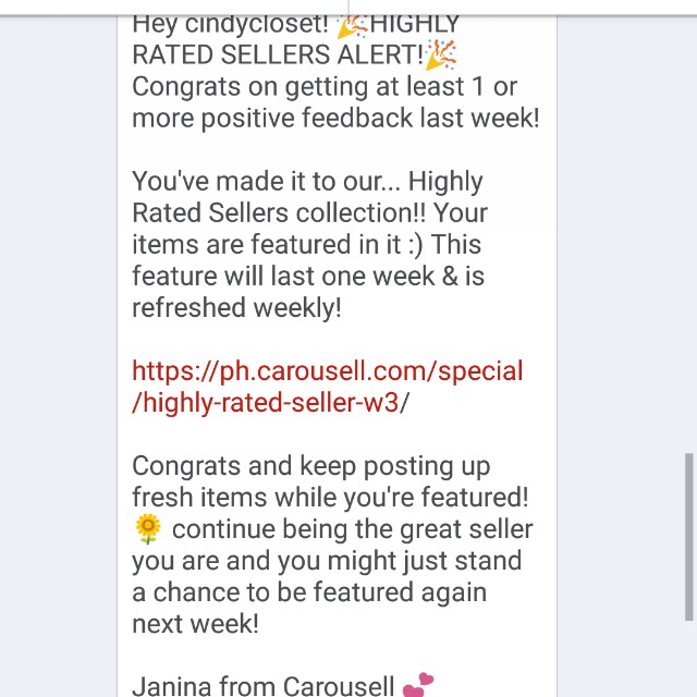 Highly Rated Sellers! 😇