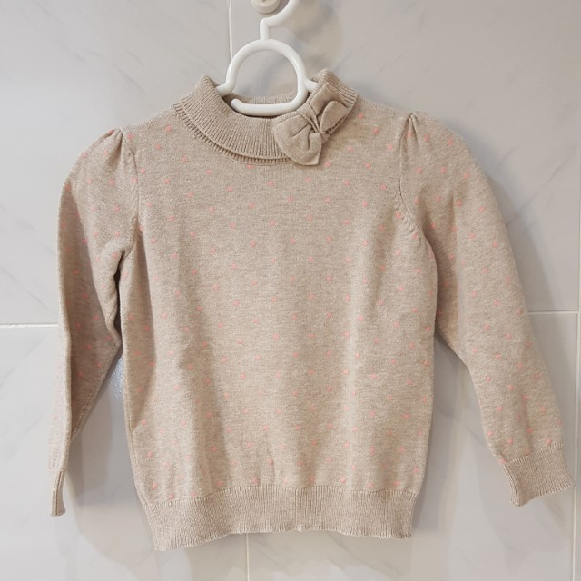 H&M knitted sweater 1.5-2Y