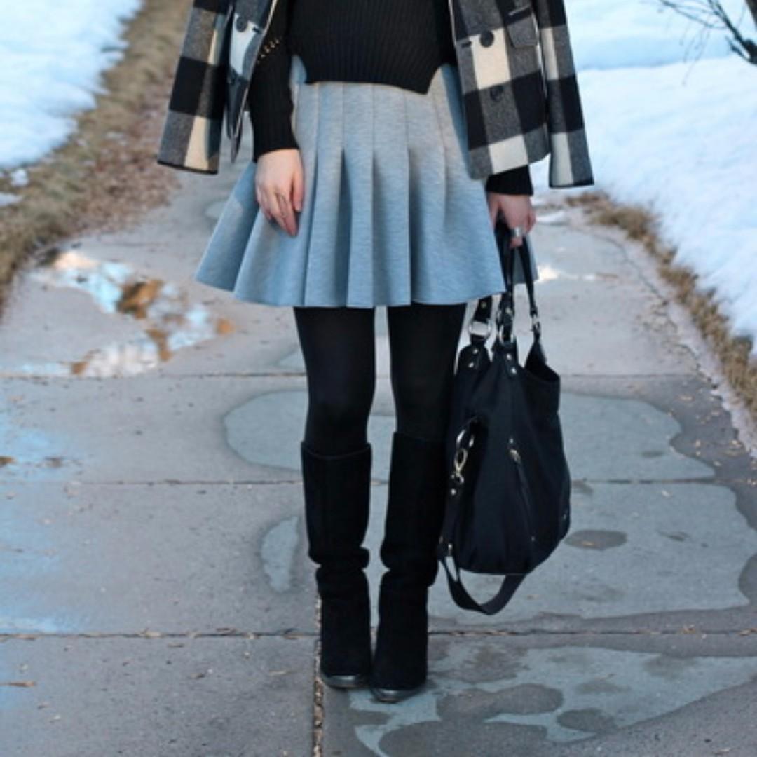 H&M Scuba Skirt size 34 (XS-S)
