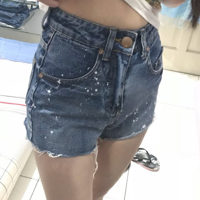 Hotpants cotton on + get 1 random clothes