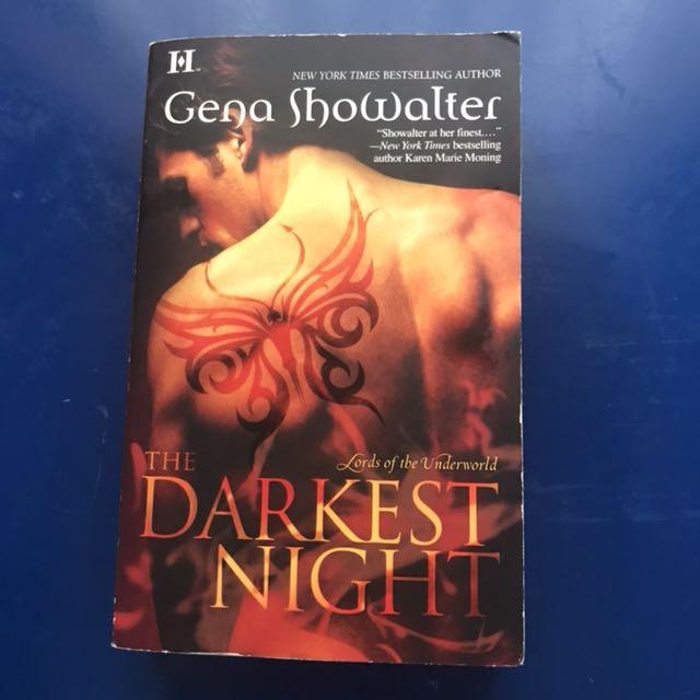 Import book: Darkest Night