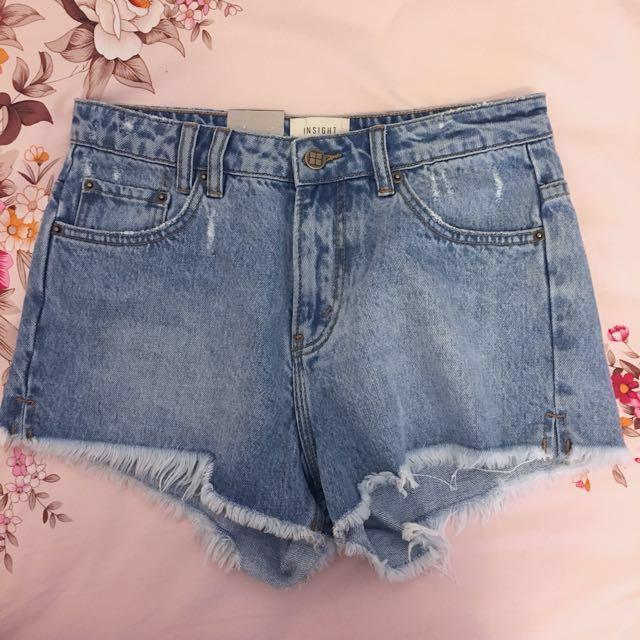 INSIGHT denim shorts