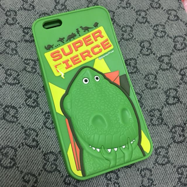 Iphone6/6s plus 玩具總動員抱抱龍恐龍Rex手機殼軟殼