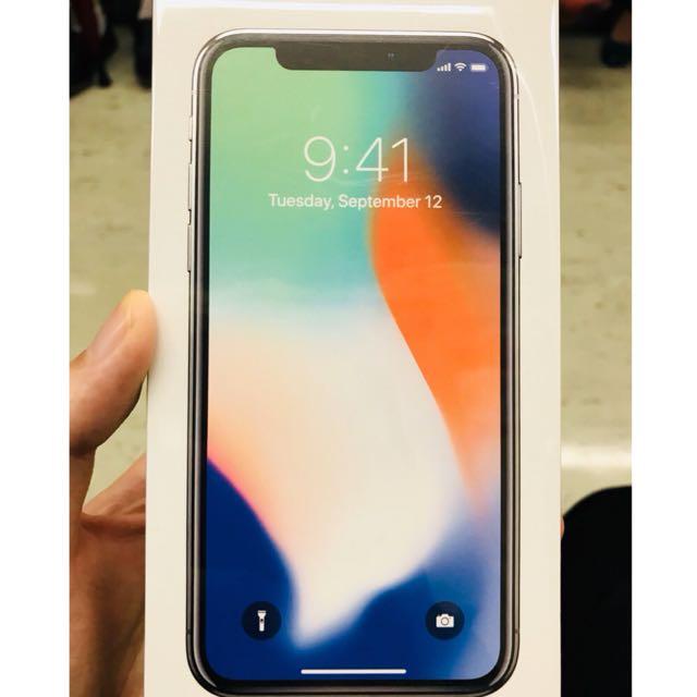 iPhone X 64g銀色