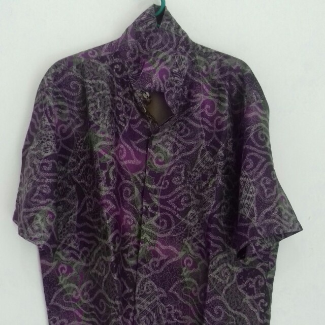 Kemeja batik pria merk Sinar Abadi