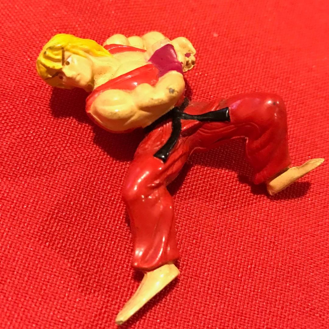 KEN - Charafull World - Final Warriors [Street Fighter II] RARE 1980s Japan