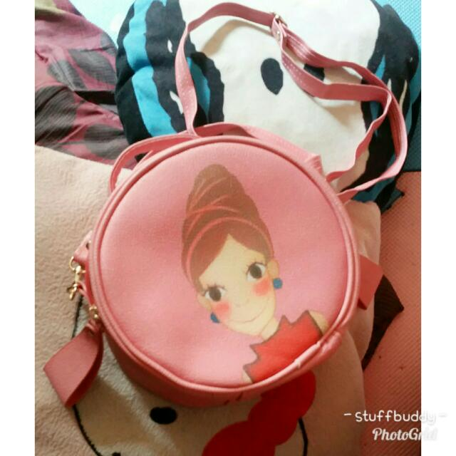 Korean Circle Sling Bag