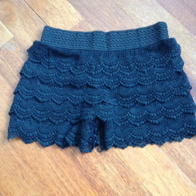 Lacey culottes