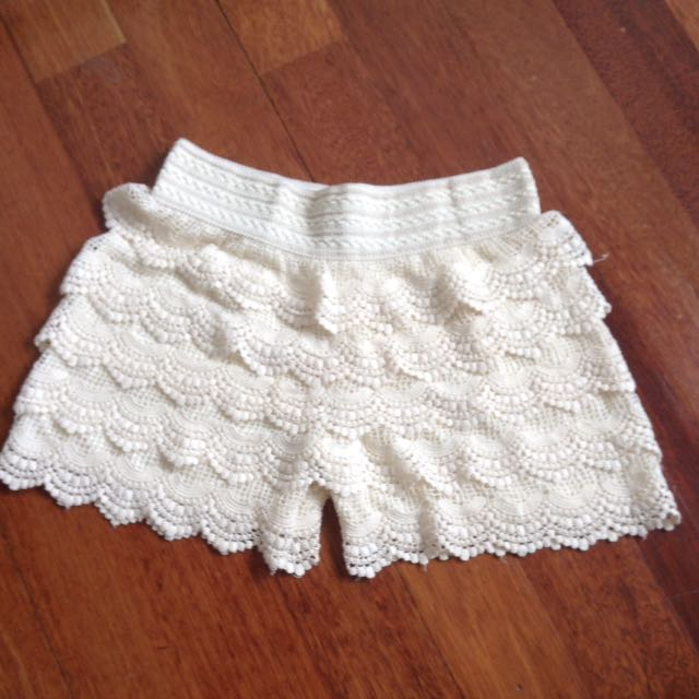 Lacey culottes (shorts/skirt)