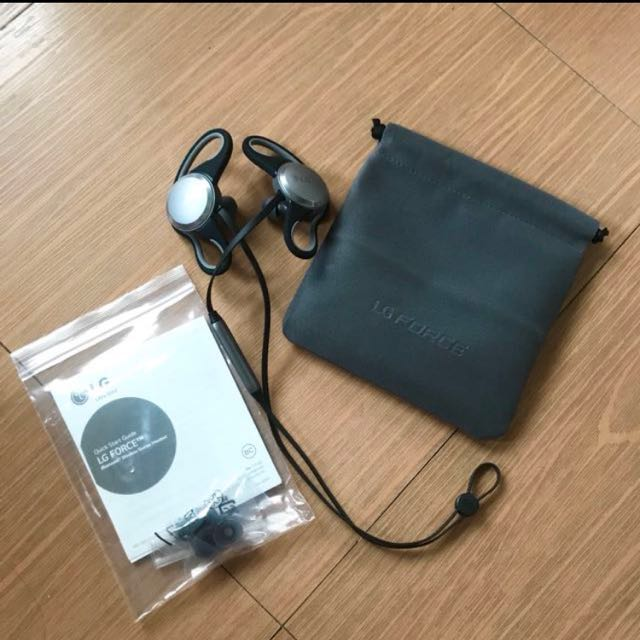 LG FORCE bluetooth headset
