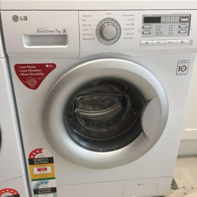 LG Front Loader 7kg Washing Machine (WD12021D6)