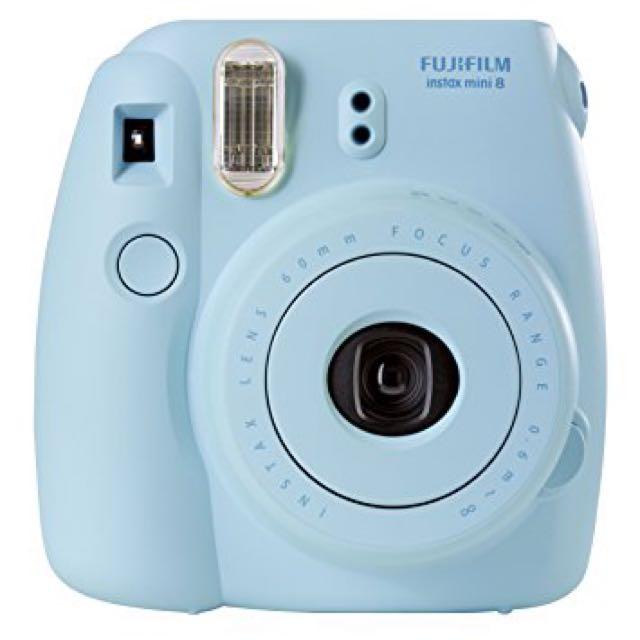 Light Blue Instax 8 Camera