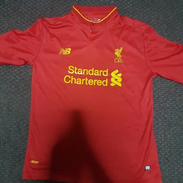 new concept d5b29 4aa10 Liverpool Home Jersey - 2016/17 Season