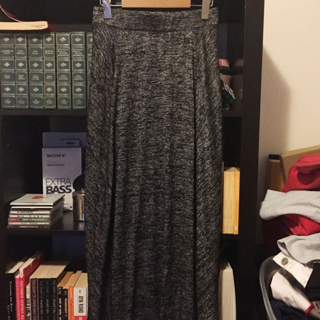 Lou&Grey Heathered Maxi Skirt