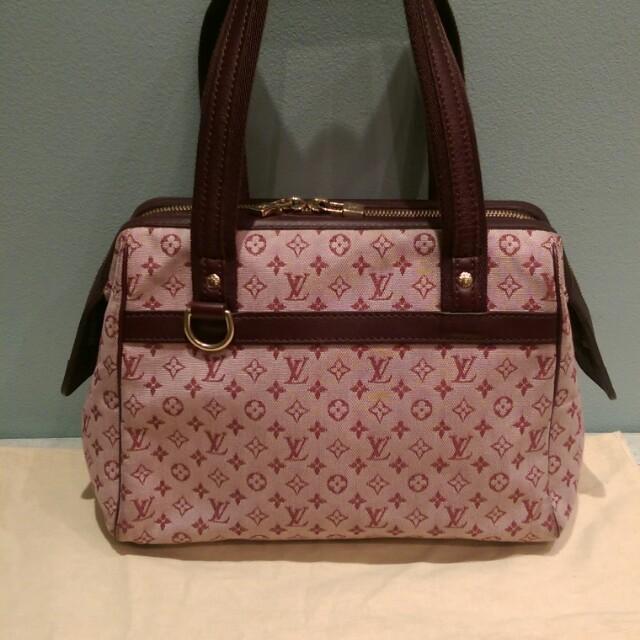 Louis Vuitton Mini Lin Josephine PM in Cerise