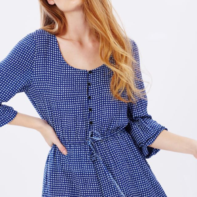 LULU & ROSE Bianca Button Front Playsuit