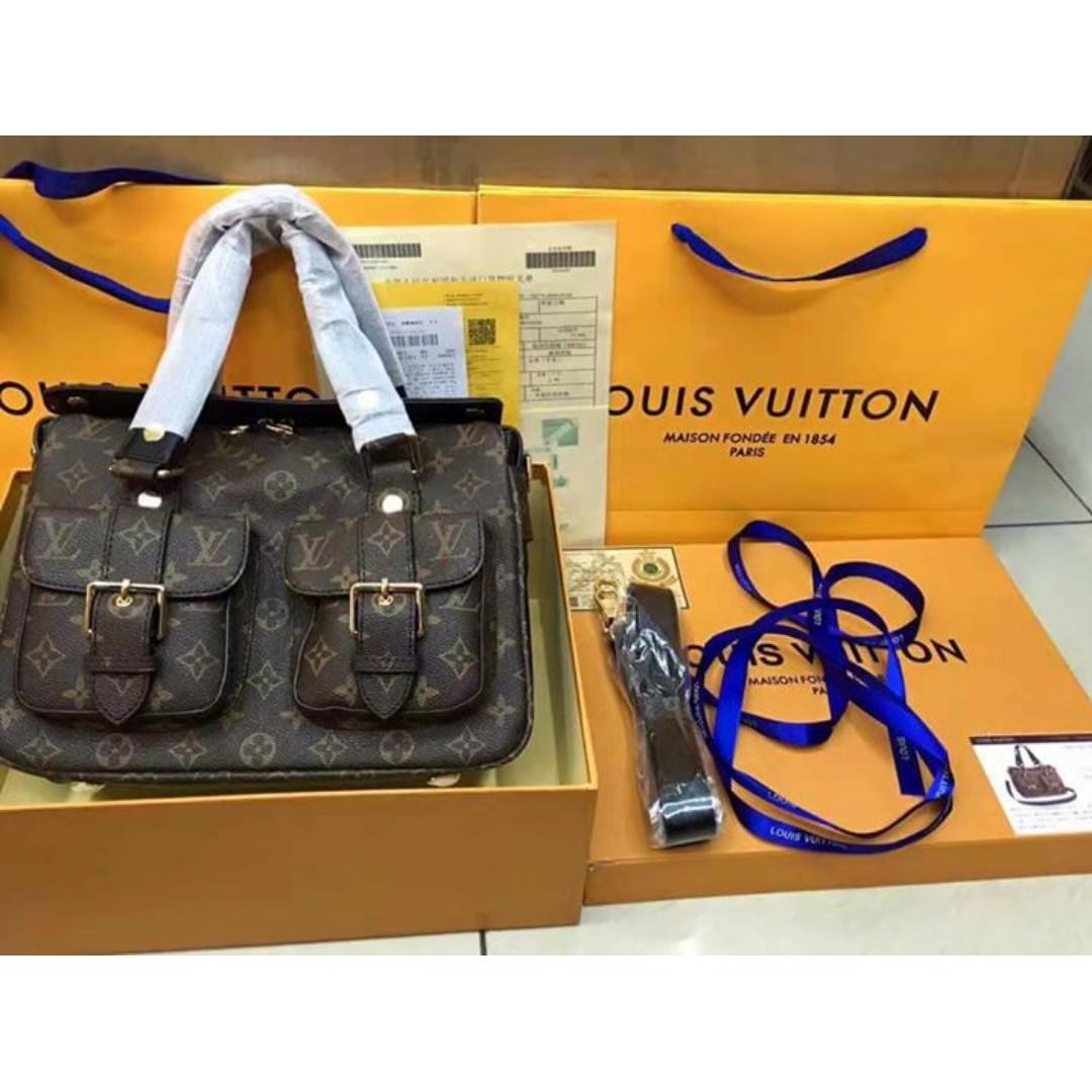 LV 2018 authentic overrun bag(option 5)
