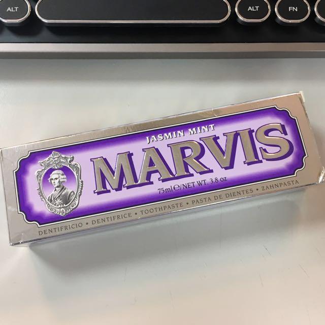 MARVIS義大利頂級牙膏-jasmin mint茉莉薄荷
