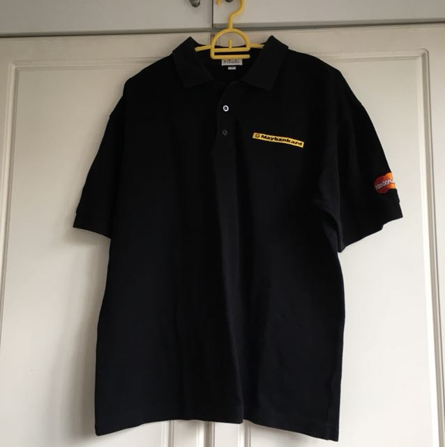 Maybankard polo shirt