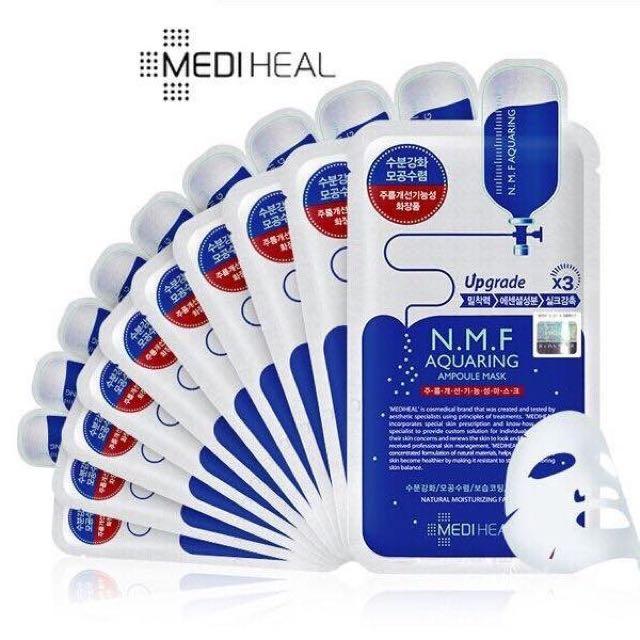 小公主♥韓國代購美妝韓國醫美品牌MEDIHEAL可萊斯強力補水面膜