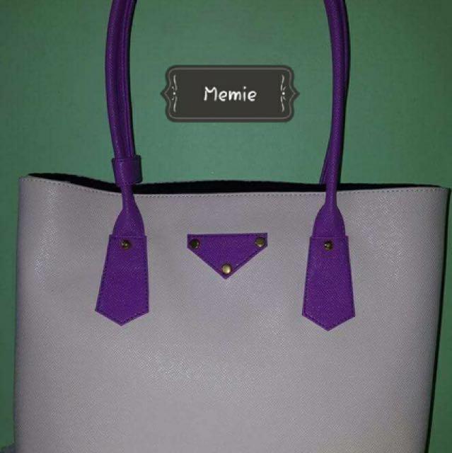 Memie Large handbag with inside pouch