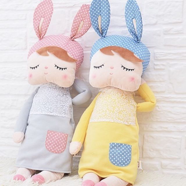 Metoo Angela bunny girl plush toys