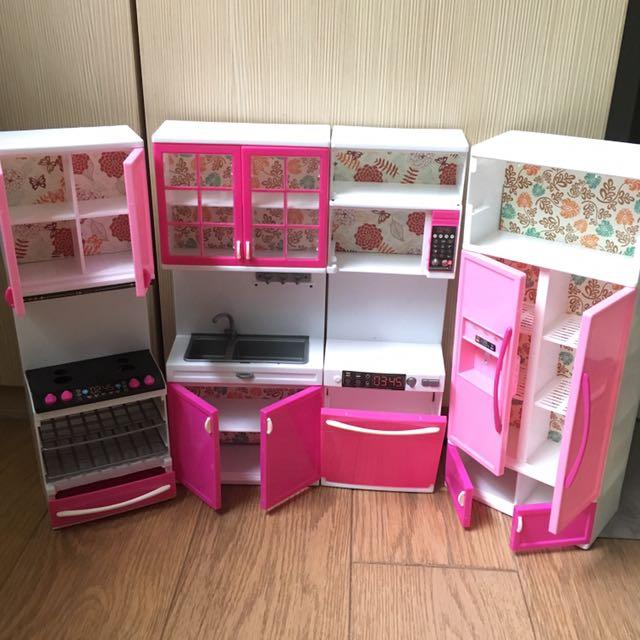 Miniature Kitchen Set Toys Games Bricks Figurines On Carousell
