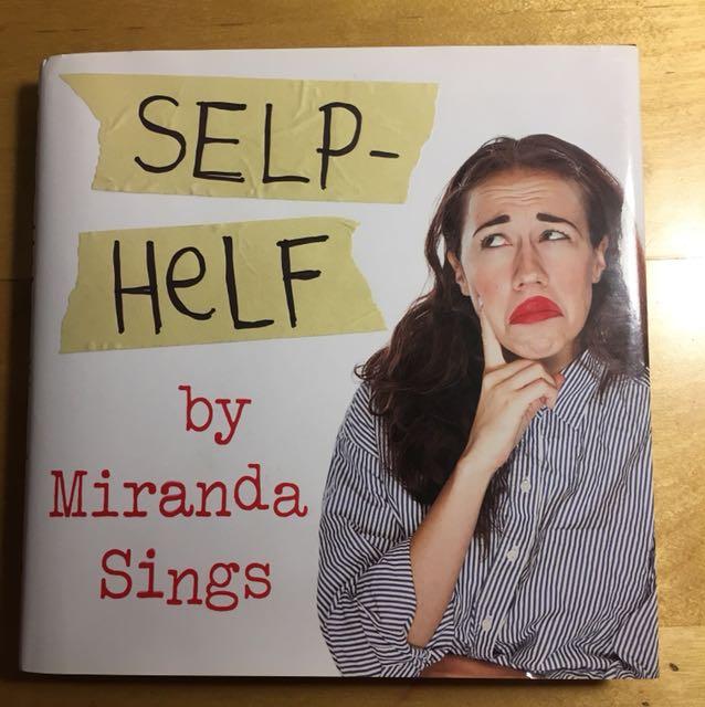 Miranda sings book - Selp Helf