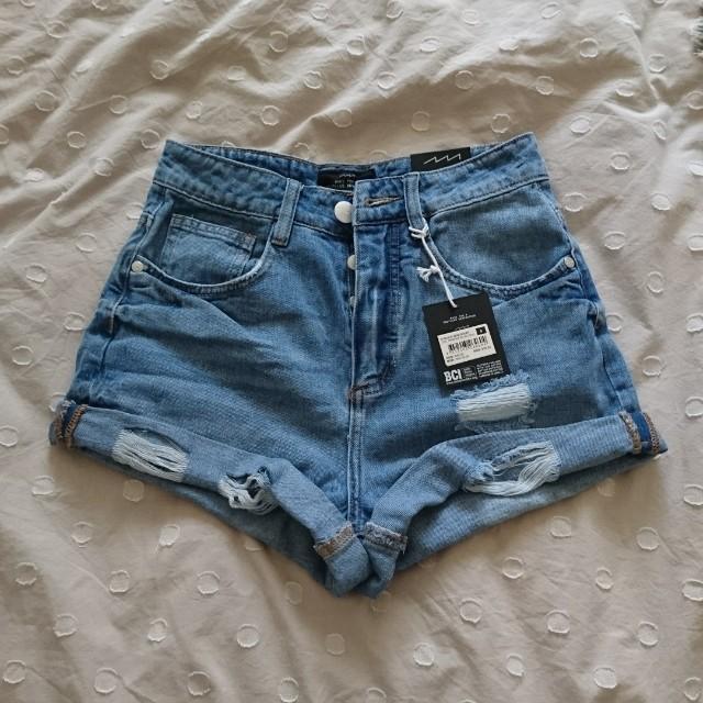 mom denim shorts size 6