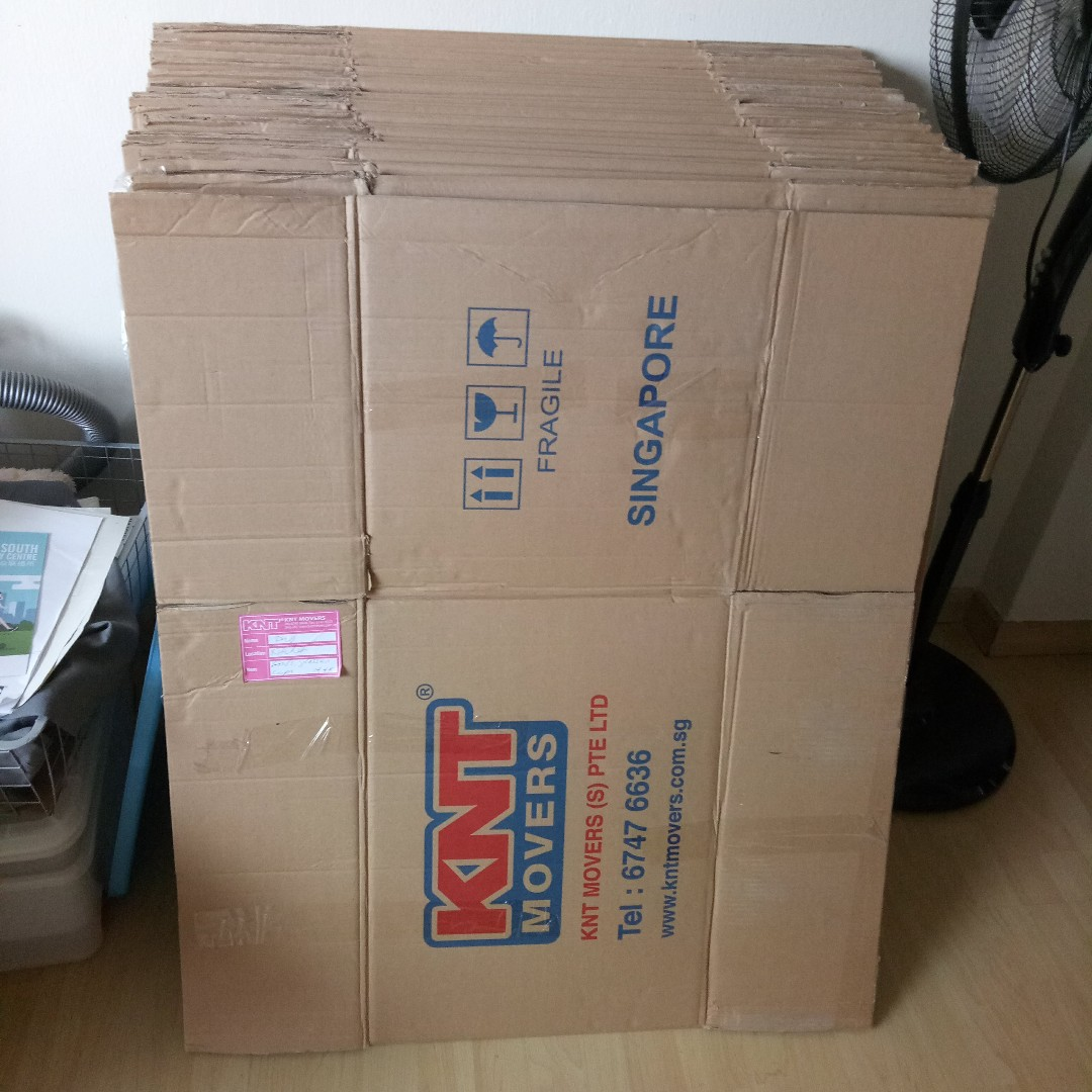 Moving Boxes, Cartons