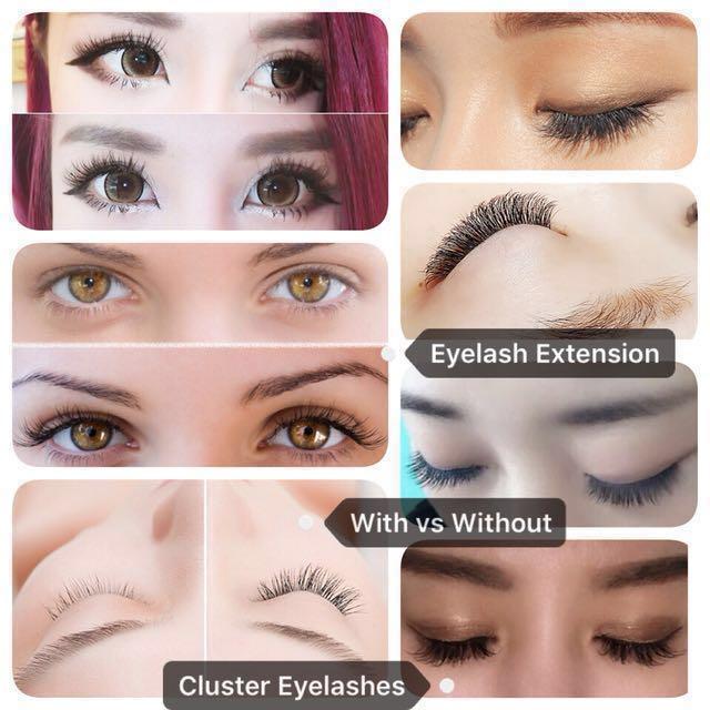 Nesura Eyelash Extension Cluster Eyelashes 10d