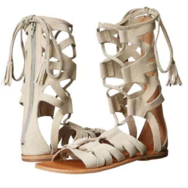 New with box free people gladiator sandals Sz 7