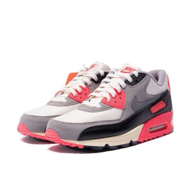 low priced 0a120 60506 Nike Air Max 90 OG Infrared Size 9.5 / 43, Men's Fashion ...