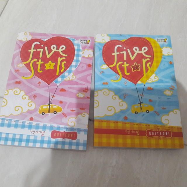 Novel Five Star by Guiyeoni