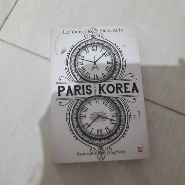 Novel Paris Korea by Lee Young Hee& Floria Airin