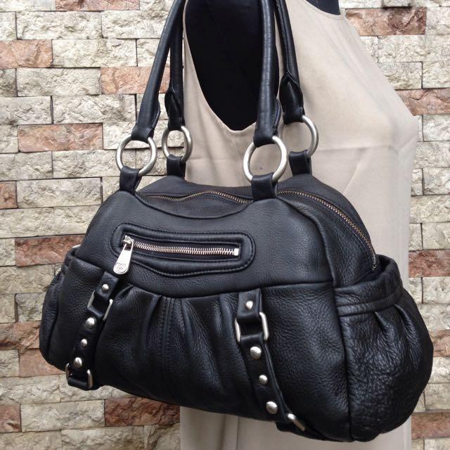 Original Anne Klein Leather Shoulder Bag
