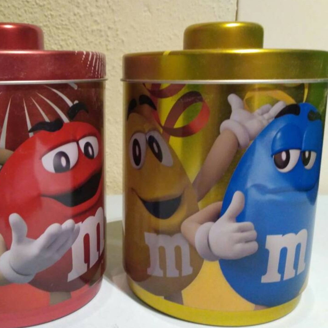 Pair of M&M Tins (Stackable)