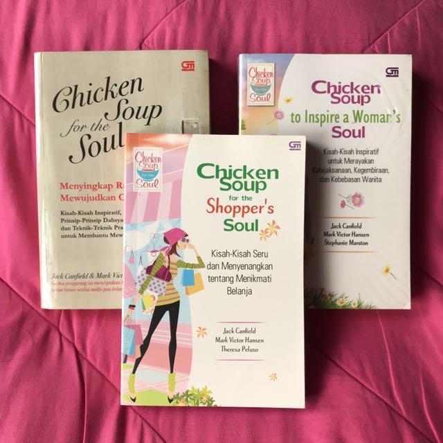 Paket Buku Chicken Soup