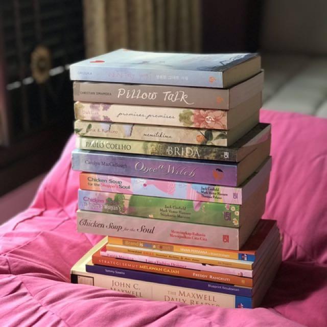 Paket Hemat Buku Bekas