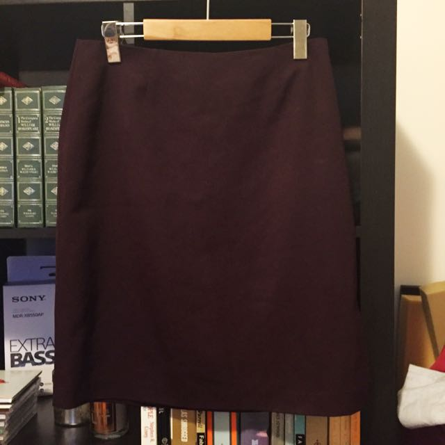 Pencil Skirt w/ Side Slit