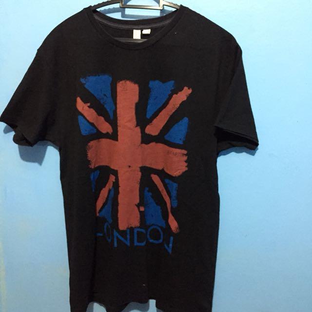 Penshoppe Black London Shirt