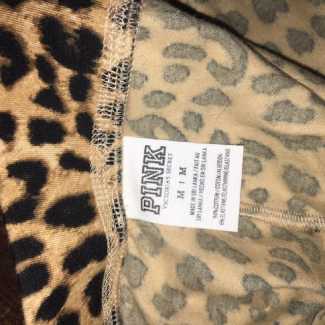 PINK Cheetah Print Leggings