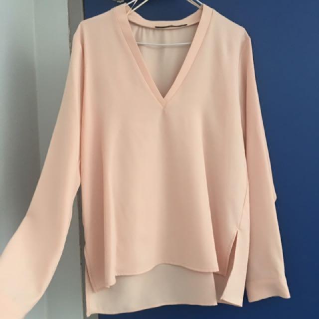 Pink Top by Zara Basics